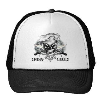 Chef Skull 4: Iron Chef Trucker Hat