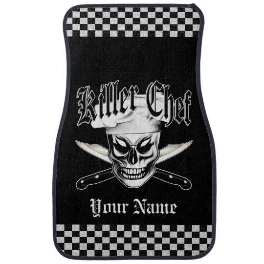 Chef Skull 4: Killer Chef Car Mat
