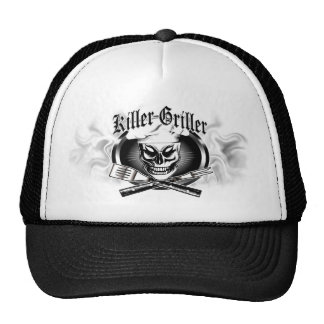Chef Skull 4: Killer Griller with Smoke Hat