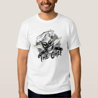 Chef Skull 4 Tee Shirts