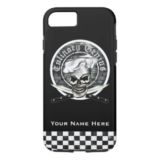Chef Skull 8 iPhone 7 Case