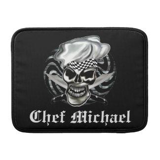 Chef Skull 8 MacBook Sleeve