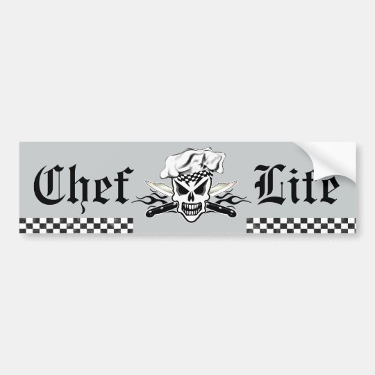 Chef Skull adn Flaming Chef Knives 2 Bumper