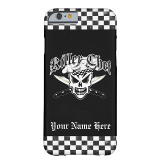 Chef Skull and Crossed Chef Knives 2 Barely There iPhone 6 Case