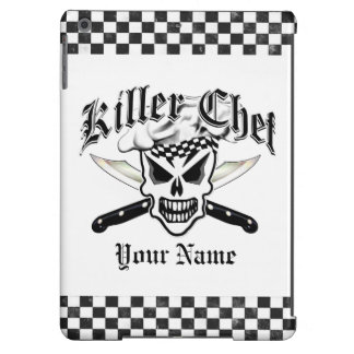 Chef Skull and Crossed Chef Knives 2 iPad Air Cases