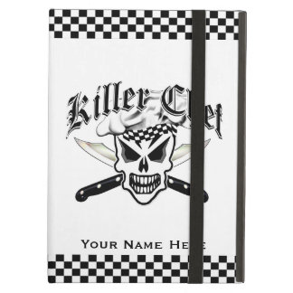 Chef Skull and Crossed Chef Knives 2 iPad Air Case