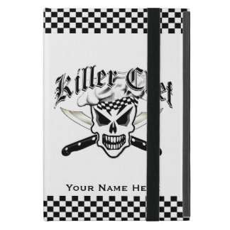 Chef Skull and Crossed Chef Knives 2 Cover For iPad Mini