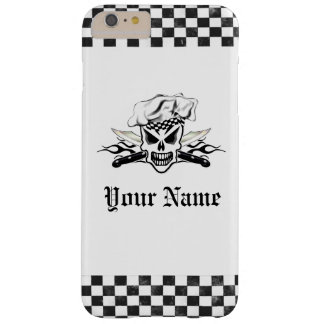 Chef Skull and Flaming Chef Knives 2 Barely There iPhone 6 Plus Case