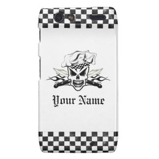 Chef Skull and Flaming Chef Knives 2 Droid RAZR Case