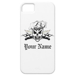 Chef Skull and Flaming Chef Knives 2 Case For The iPhone 5
