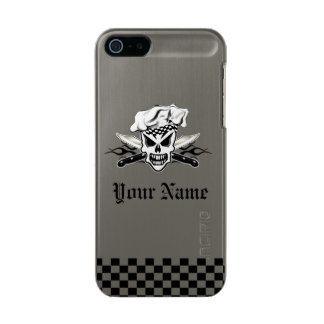Chef Skull and Flaming Chef Knives 2 Incipio Feather® Shine iPhone 5 Case