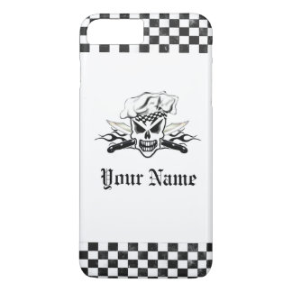 Chef Skull and Flaming Chef Knives 2 iPhone 7 Plus Case