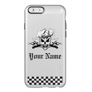 Chef Skull and Flaming Chef Knives 2 Incipio Feather® Shine iPhone 6 Case