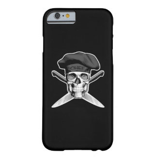 Chef Skull and Knives Barely There iPhone 6 Case