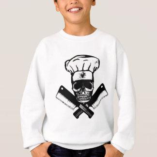 Chef Skull (B&W) Sweatshirt