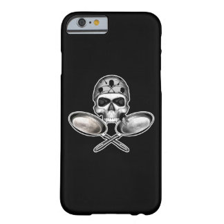 Chef Skull Frying Pans Barely There iPhone 6 Case