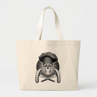 Chef Skull: Grilling Jumbo Tote Bag