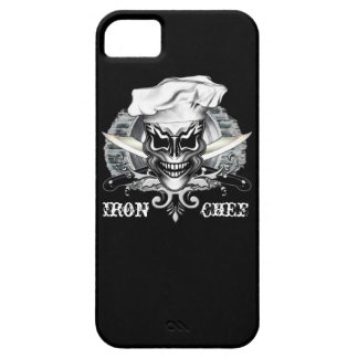 Chef Skull: Iron Chef Cover For iPhone 5/5S