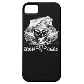 Chef Skull: Iron Chef iPhone 5/5S Cases