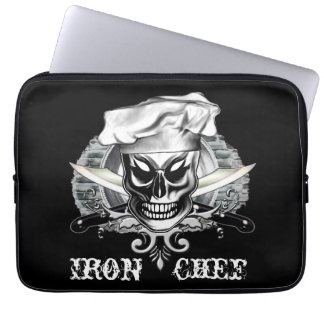 Chef Skull Laptop Sleeve Iron Chef