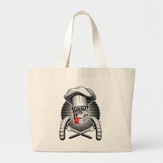 Chef Skull: Picnic Jumbo Tote Bag