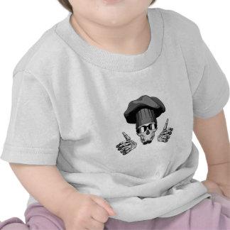 Chef Skull: Thumbs Up T-shirt
