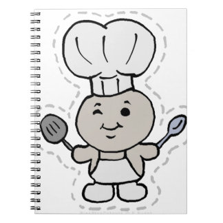 CHEF SPIRAL NOTEBOOK