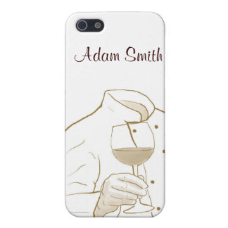 Chef Suit and Wine iPhone 5/5S Covers