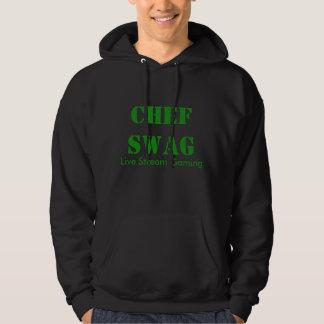 Chef Swag Black Hoodie
