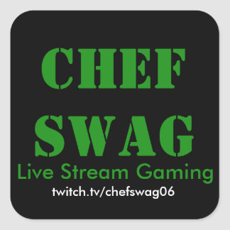Chef Swag Stickers