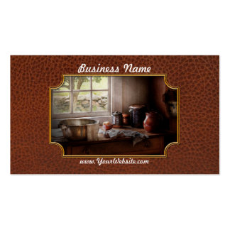 Chef - The morning chores Pack Of Standard Business Cards