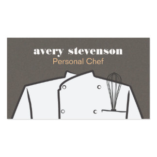 Chef Uniform and Whisk Catering Pack Of Standard Business Cards