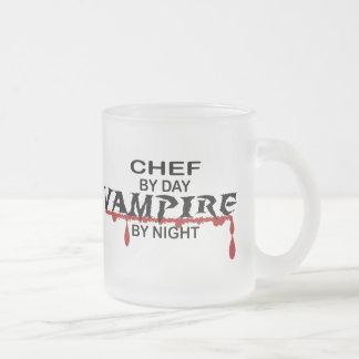 Chef Vampire by Night Mugs