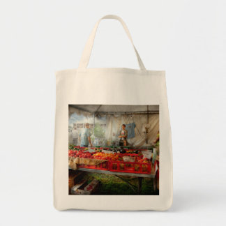 Chef - Vegetable - Jersey Fresh Farmers Market Tote Bags