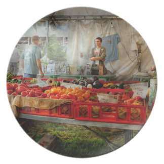 Chef - Vegetable - Jersey Fresh Farmers Market Dinner Plate