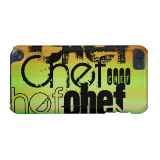 Chef; Vibrant Green, Orange, & Yellow iPod Touch 5G Cases
