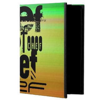 Chef; Vibrant Green, Orange, & Yellow iPad Air Cases