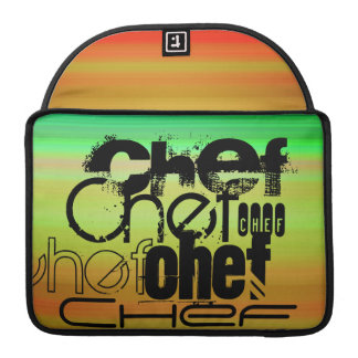 Chef; Vibrant Green, Orange, & Yellow Sleeve For MacBook Pro