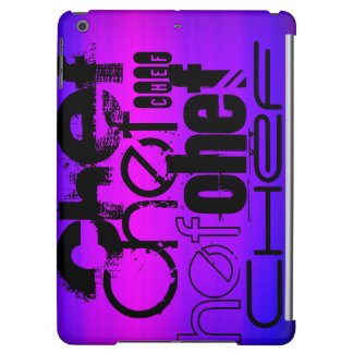 Chef; Vibrant Violet Blue and Magenta