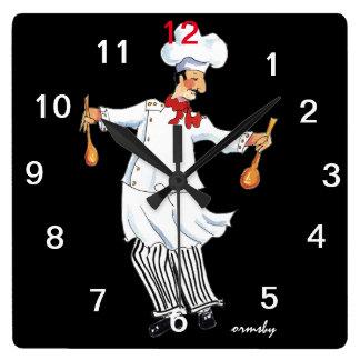 Chef Wall Clock