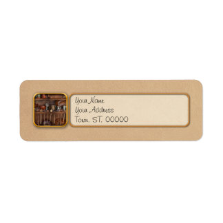 Chef - What I found in a cabinet Return Address Label