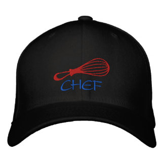 Chef Whisk Hat-Colors Can Be Changed Embroidered Cap