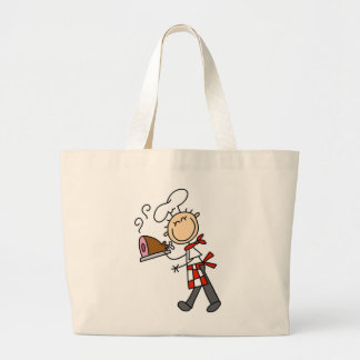 Chef With Baked Ham Canvas Bag