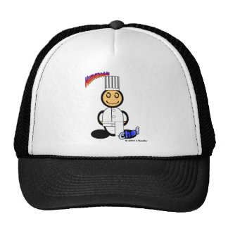 Chef (with logos) cap