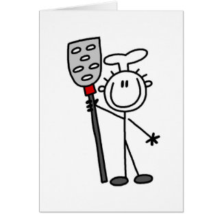 Chef with Spatula Card