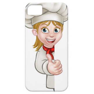 Chef Woman Cartoon Cook iPhone 5 Cases