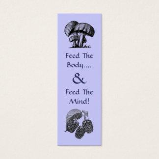 Chef's Bookmark Mini Business Card