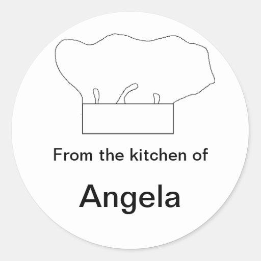 """""""Chef's Hat"""" Sticker"""