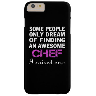 CHEF'S MOM BARELY THERE iPhone 6 PLUS CASE
