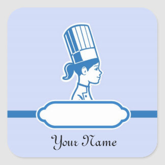 Chef's Personalized Large Labels Sticker